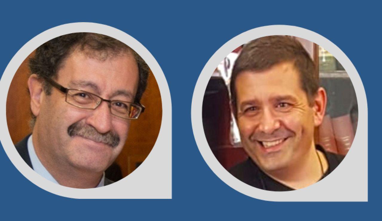 Francisco López-Muñoz y José Antonio Guerra Guirao
