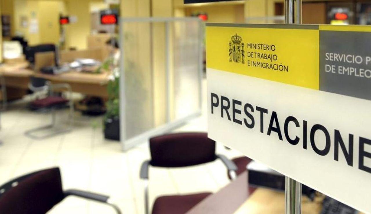 Una de las oficinas del Servicio Público de Empleo Estatal