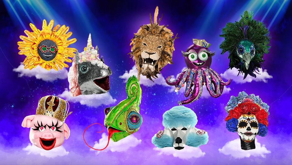 Descárgate nuestros stickers oficiales de 'Mask Singer: adivina quién canta'