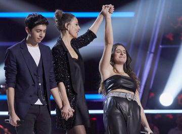 """Laura Pausini y Carlos Rivera seleccionan a Carlota Palacios en la Batalla Final de 'La Voz': """"Estás en el momento justo"""""""