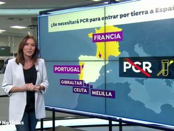 El Gobierno multará con hasta 6.000 euros a los viajeros que lleguen sin PCR negativo en coronavirus