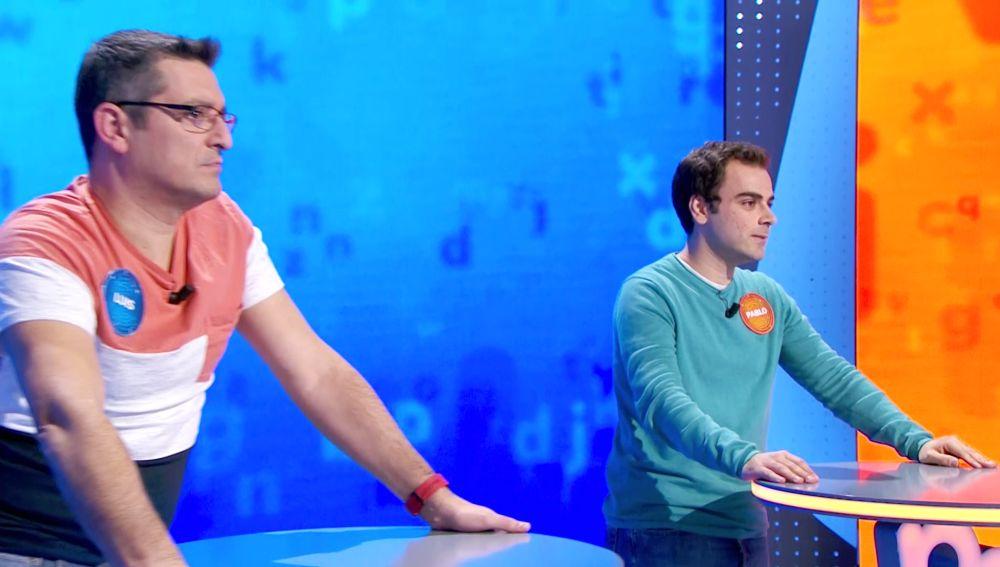 ¡Vaya remontada! Duelo de estrategias lleno de tensión entre Pablo y Luis en 'El Rosco'