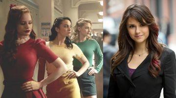 Las actrices de 'Riverdale' y Nina Dobrev de 'Crónicas Vampíricas'