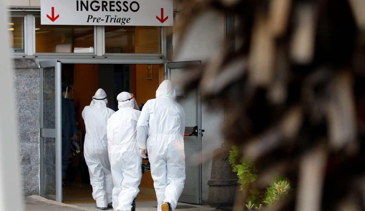 Encuentran muerto a un paciente de coronavirus en el baño de un hospital en Italia