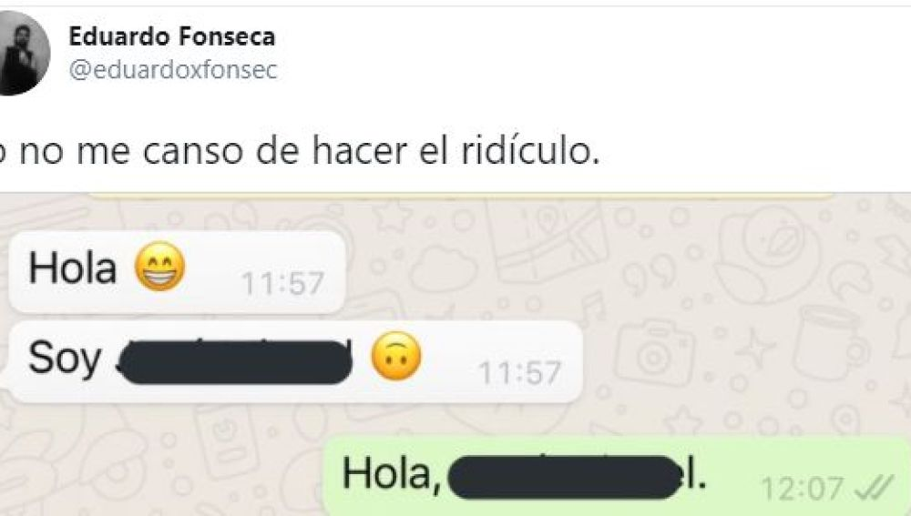 Tuit de @eduardoxfonsec