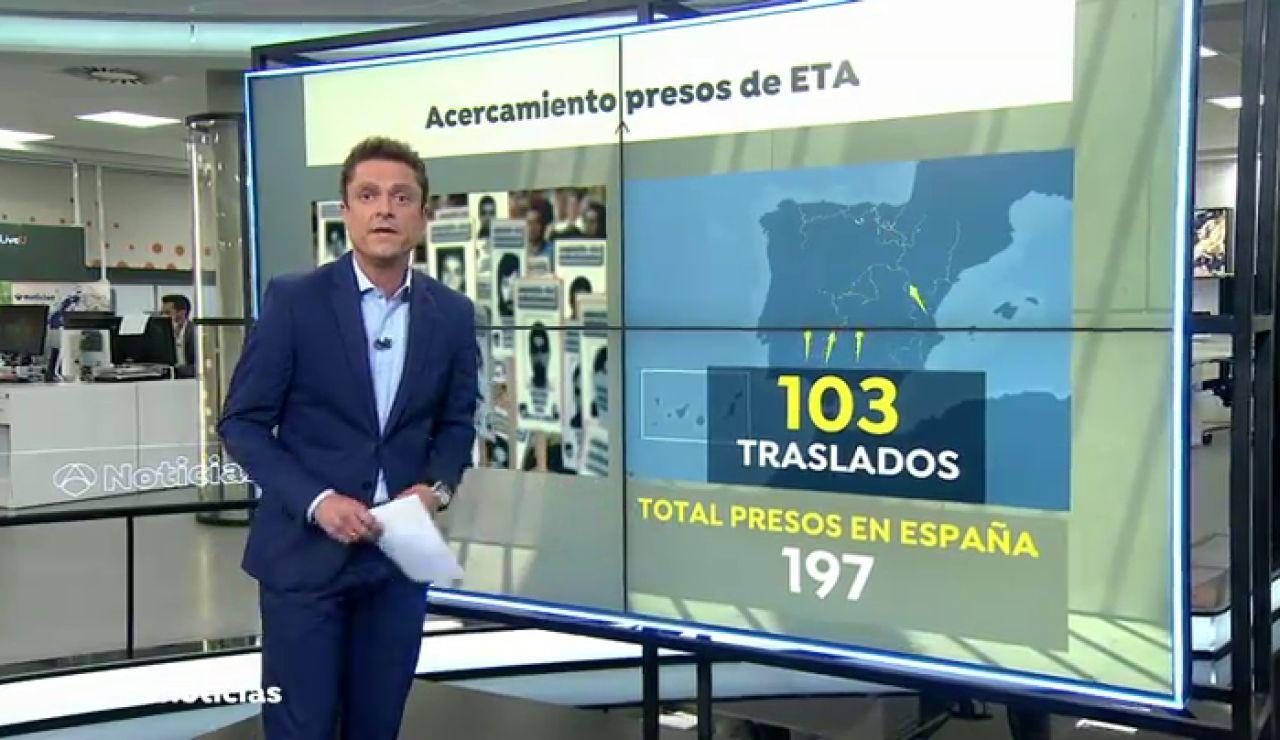 """El Gobierno traslada a cinco etarras cerca de País Vasco y el PP lo tacha de """"presos por presupuestos"""""""