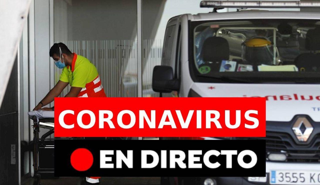Coronavirus hoy: Restricciones, confinamiento, datos de covid-19 en España y última hora, en directo