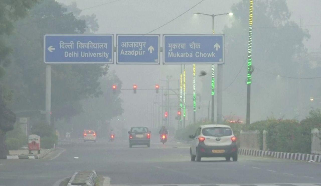 La contaminación del aire llega a niveles tóxicos en la India tras la celebración del Diwali, el año nuevo hindú