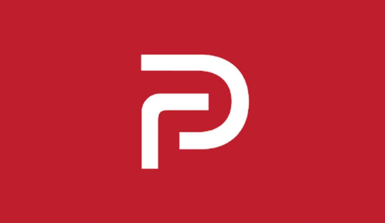 Logo de la red social Parler