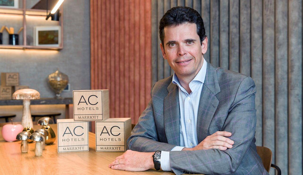 Fotografía de D. Carlos Catalán, Vicepresidente de AC Hotels by Marriott desde el año 2000