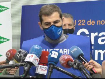 """Iker Casillas apadrina el Banco de Alimentos: """"Este año tenemos que ser más solidarios si cabe"""""""