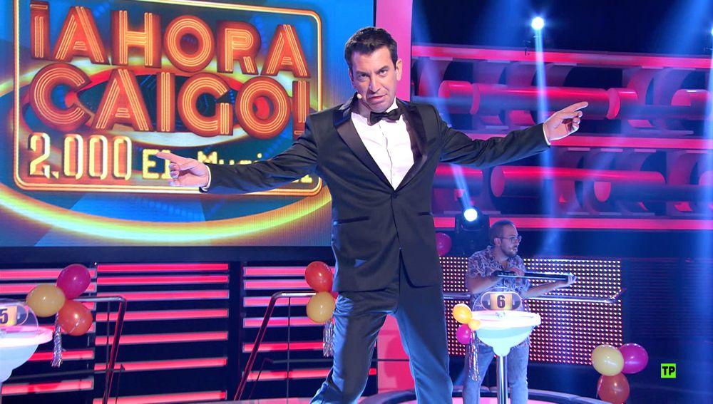 '¡Ahora caigo! 2.000, el musical': El concurso llega a 2.000 programas con la mayor fiesta de su historia