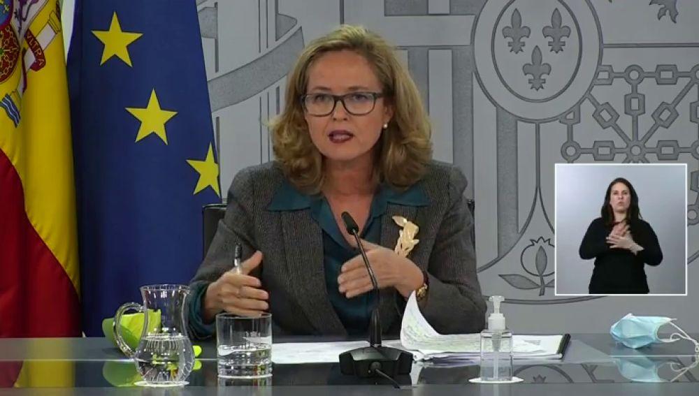 Nadia Calviño, vicepresidenta tercera del Gobierno