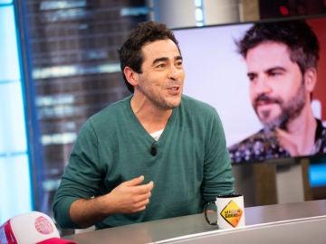 Pablo Chiapella confiesa el compromiso al que se tuvo que enfrentar por culpa de Ernesto Sevilla en una tienda de toallas