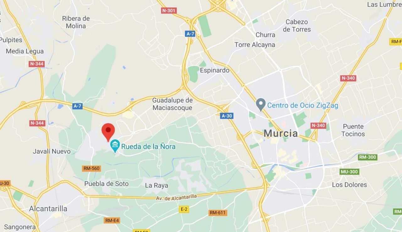 La Ñora, Murcia