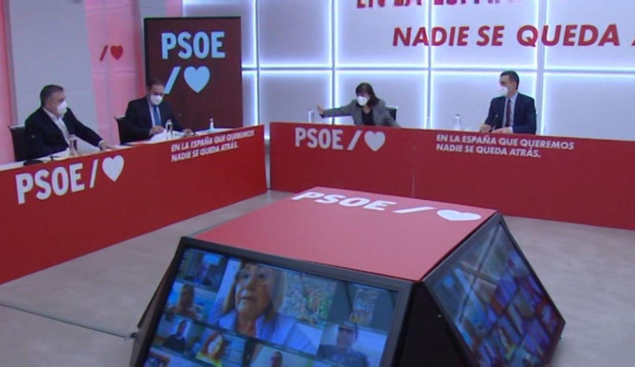 Reunión de la Ejecutiva socialista