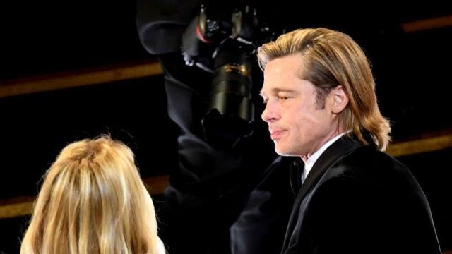 Brad Pitt en la pasada edición de los Oscar