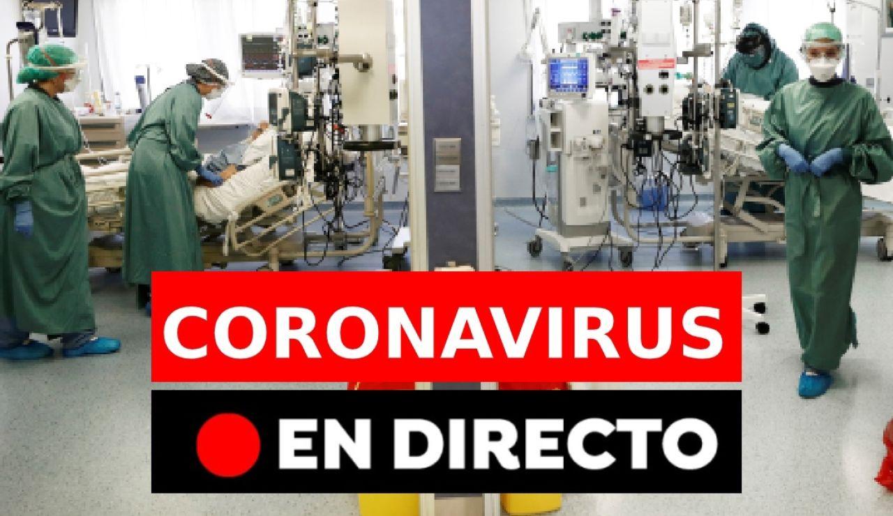 Coronavirus España hoy: Vacuna, datos de contagios, restricciones y última hora, en directo