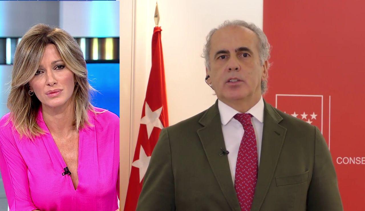 Enrique Escudero en Espejo Público