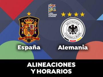 España - Alemania: Horario, alineaciones y dónde ver el partido de la UEFA Nations League en directo
