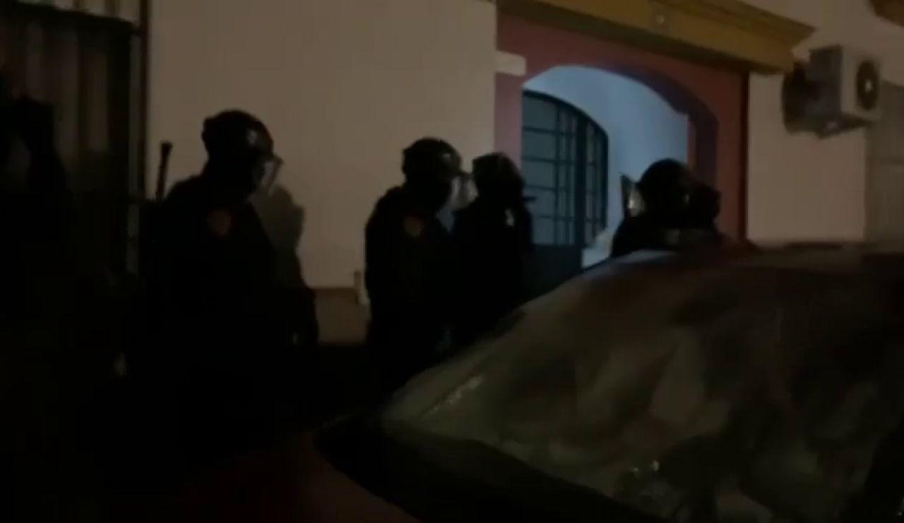 Operación contra el tráfico de marihuana en la sierra de Cádiz