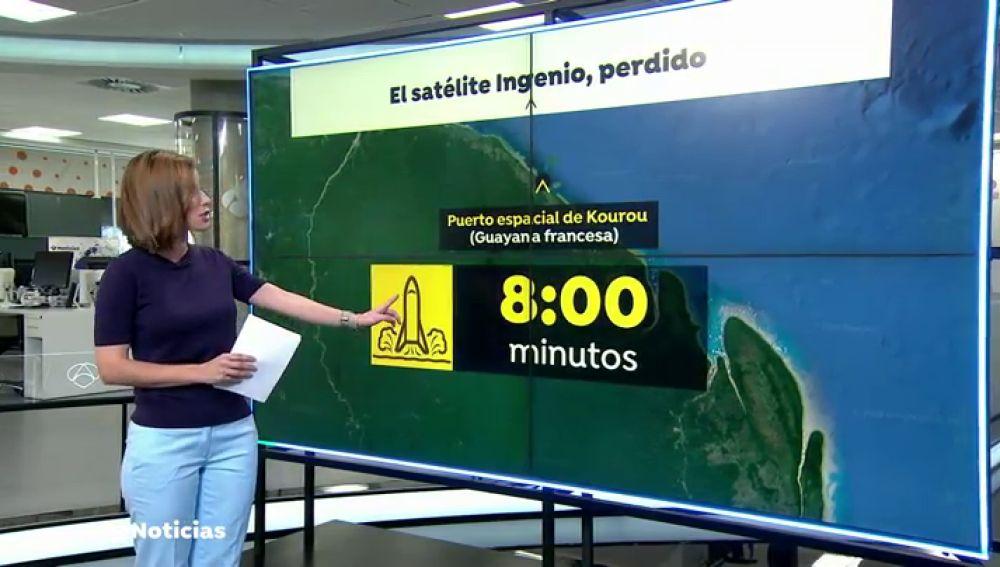 El cohete que transportaba el satélite español Ingenio se desvía 8 minutos en el despegue y supone la pérdida de la misión