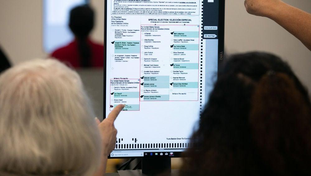 Elecciones EEUU 2020: Hallan 2.600 votos sin contar en Georgia