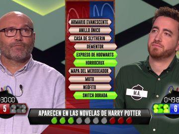 M. A., de 'Los dispersos', deslumbra con sus amplísimos conocimientos sobre Harry Potter