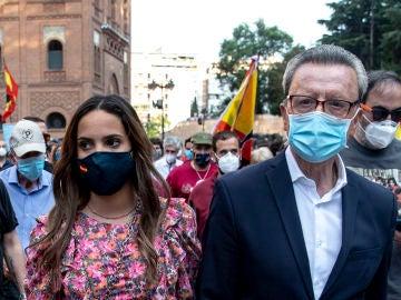 Gloria Camila y su padre Ortega Cano