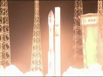 ¿Por qué se desvió el cohete que transportaba el satélite español Ingenio?