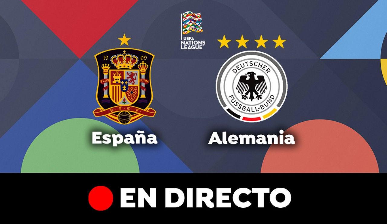 España - Alemania: Resultado y goles del partido de hoy, en directo | Nations League