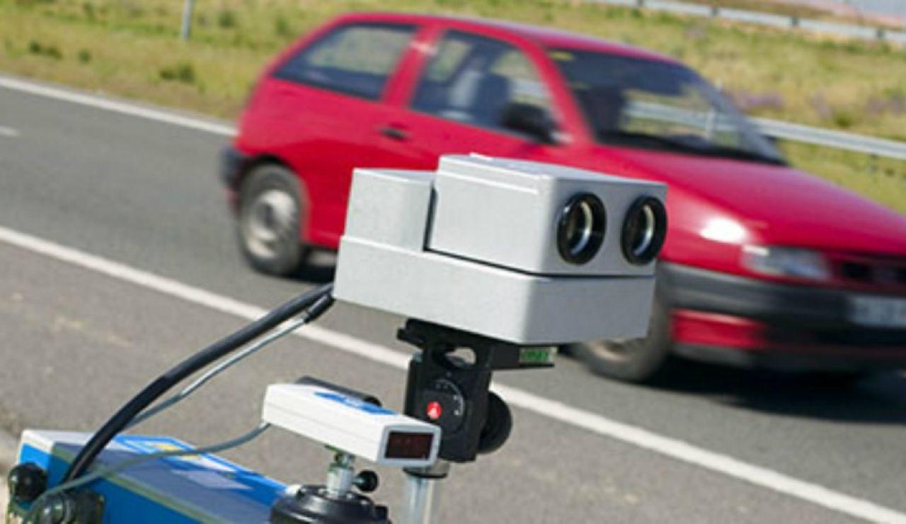 Radar en la carretera