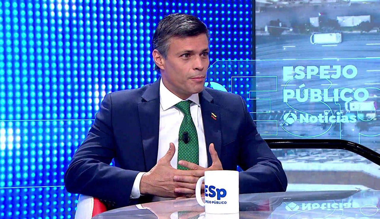 """Leopoldo López: """"Pedro Sánchez está comprometido con la libertad y con elecciones libres en Venezuela"""""""