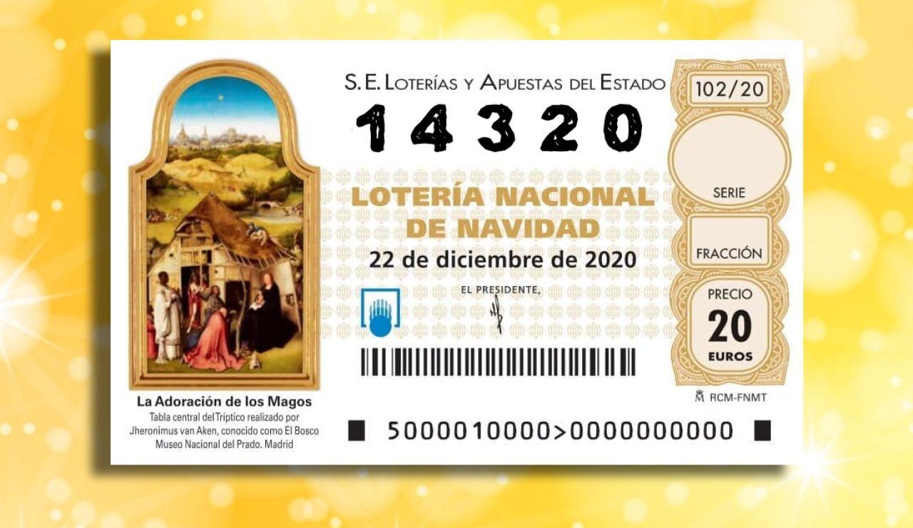 Lotería de Navidad 2020: Agotado en toda España el número 14.320, fecha del estado de alarma