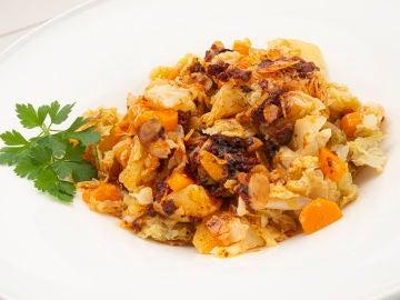 La receta adelgazante de Karlos Arguiñano: repollo con zanahorias