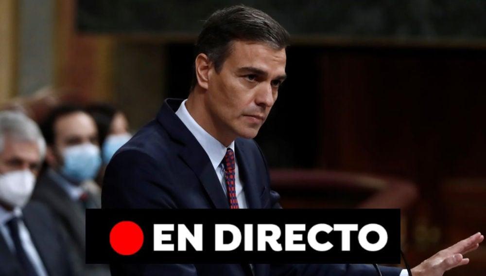 EN DIRECTO: Sesión de control al Gobierno en el Congreso de los Diputados hoy miércoles 18 de noviembre, vídeo en streaming
