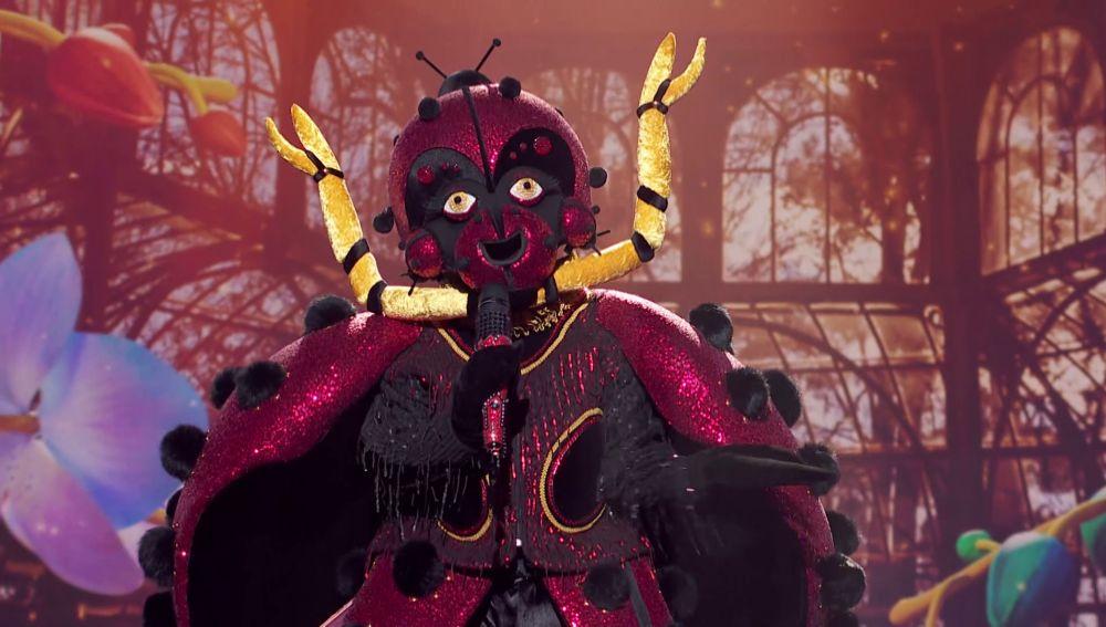La Mariquita rompe el plató de 'Mask Singer' con 'Someone like you' de Adele