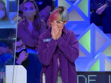 La sincera pregunta de Jorge Fernández que deja sin palabras a una concursante de 'La ruleta de la suerte'