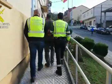 Detenido el sospechoso de atropellar mortalmente a un ciclista en Agolada, Pontevedra