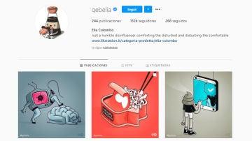 Instagram de @gebelia