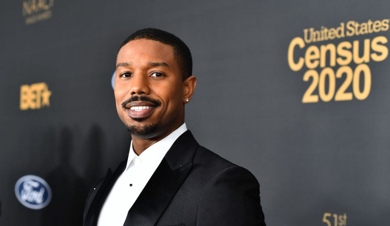 El actor Michael B. Jordan