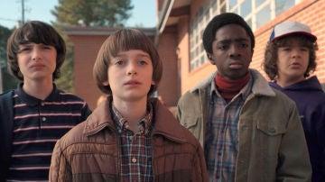 Los niños protagonistas de 'Stranger Things'