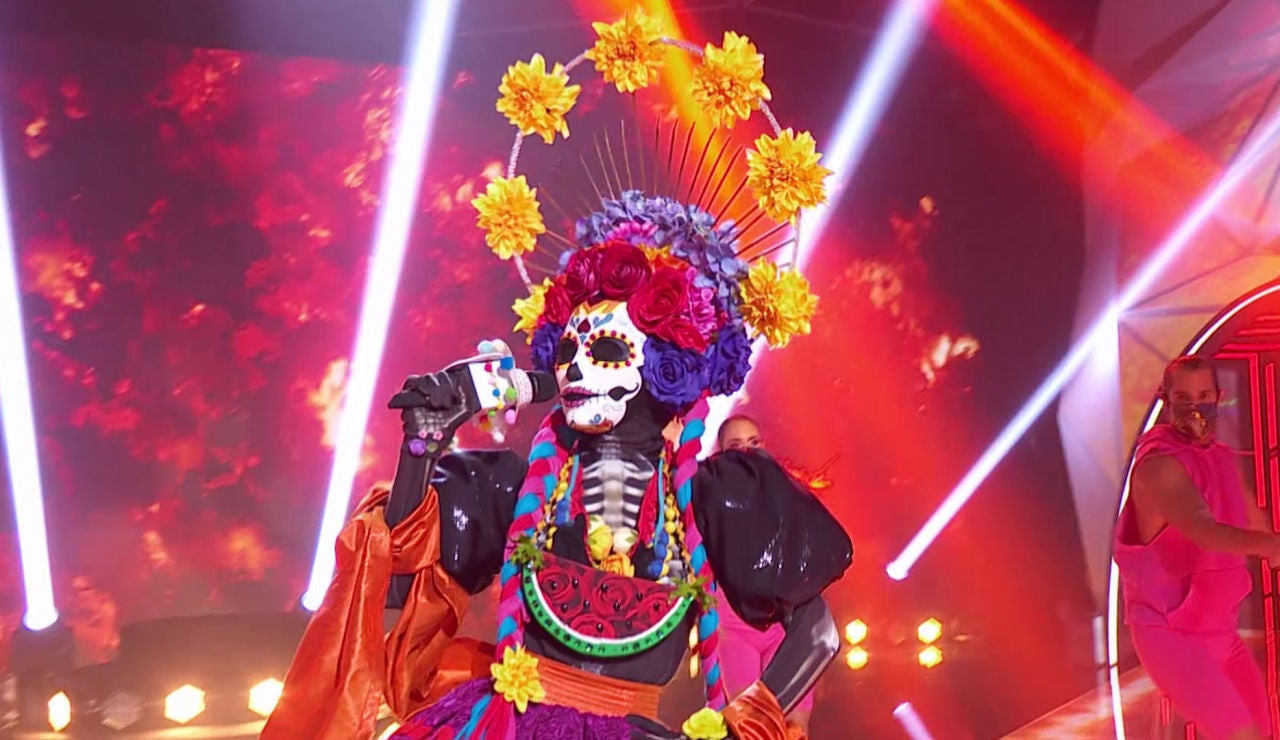 Catrina - Mask singer - Gala 3