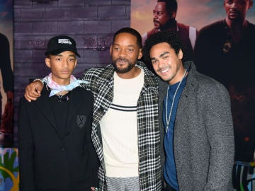 Jaden Smith, Will Smith y Trey Smith