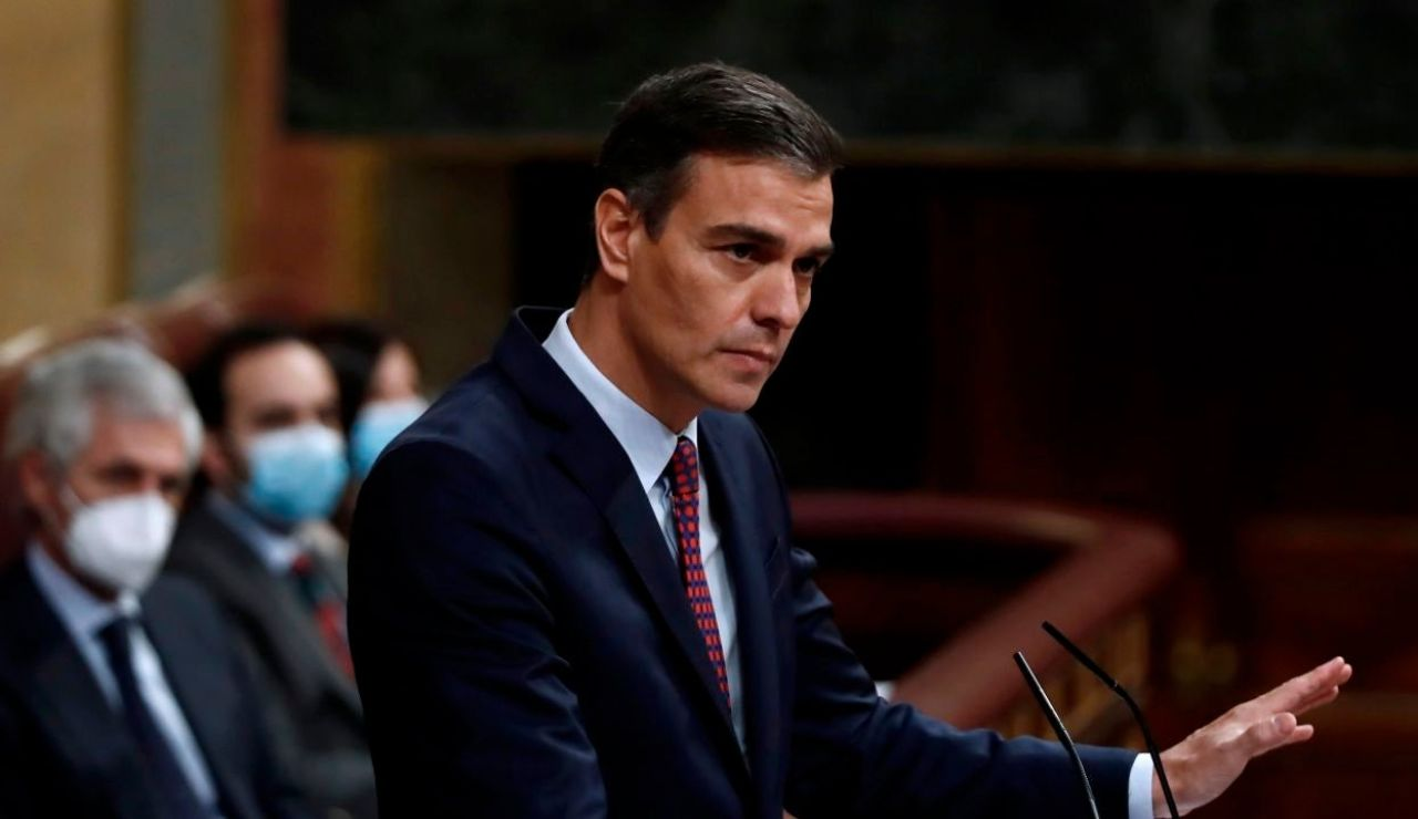 laSexta Noticias 14:00 (18-11-20) Sánchez dice que Casado practica el 'trumpismo' cuando le acusa de mentir por el apoyo de Bildu a los Presupuestos