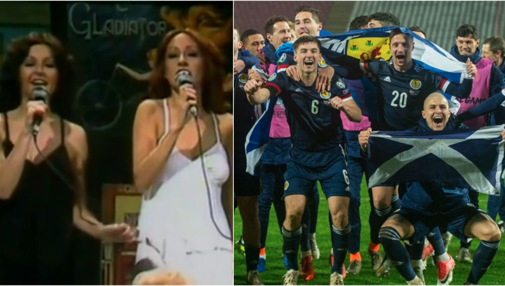 'Yes Sir, I can boogie', del dúo español Baccara, el nuevo 'himno' de Escocia para la Eurocopa