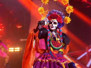 Catrina perrea en 'Mask Singer' al ritmo de 'Taki Taki' de DJ Snake