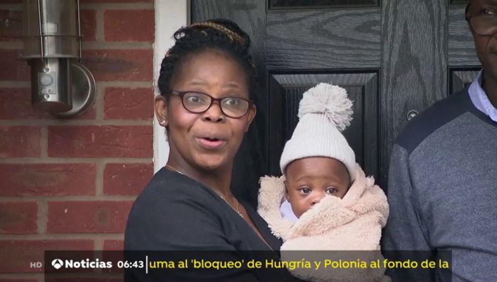 Despierta del coma tras contagiarse de coronavirus embarazada de 6 meses y descubre que sus gemelos están vivos