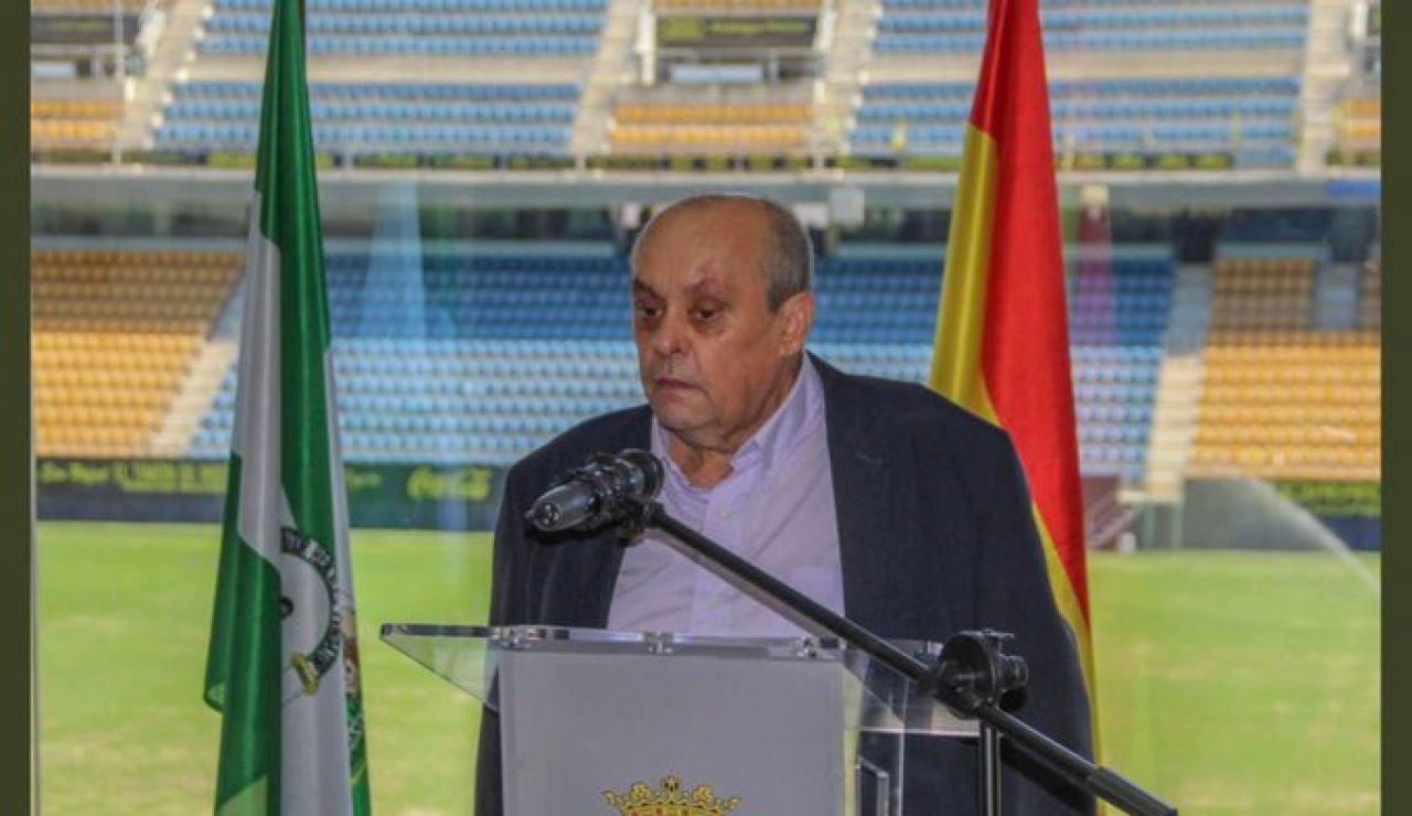 Muere Theo Vargas, la voz del Cádiz CF durante más de 3.100 partidos