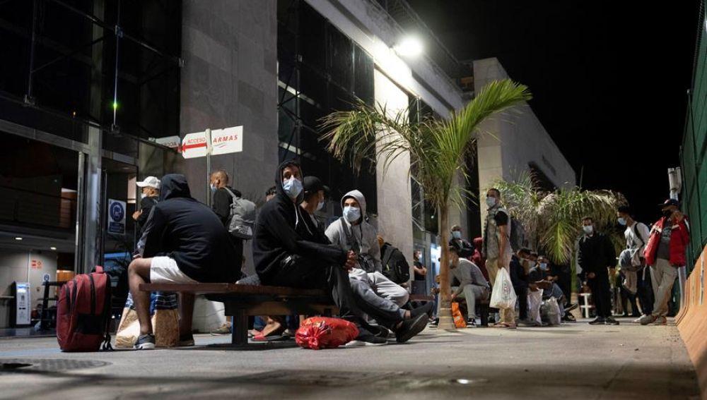 Inmigrantes en Canarias
